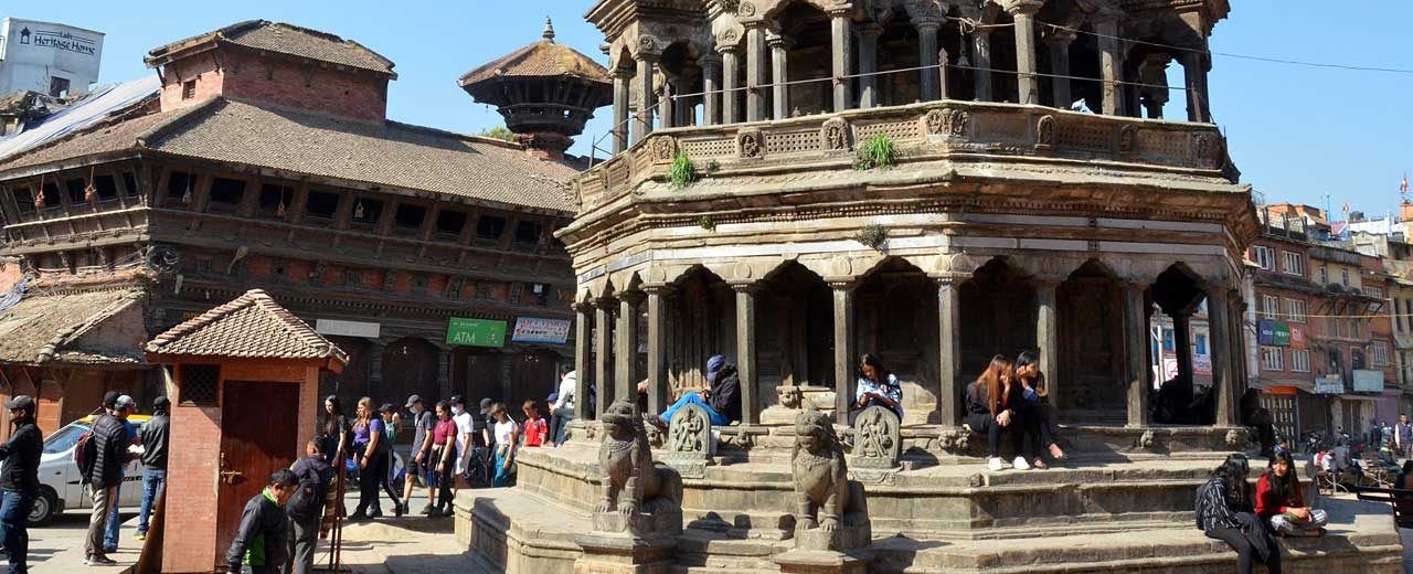 Kathmandu, Old Town centre