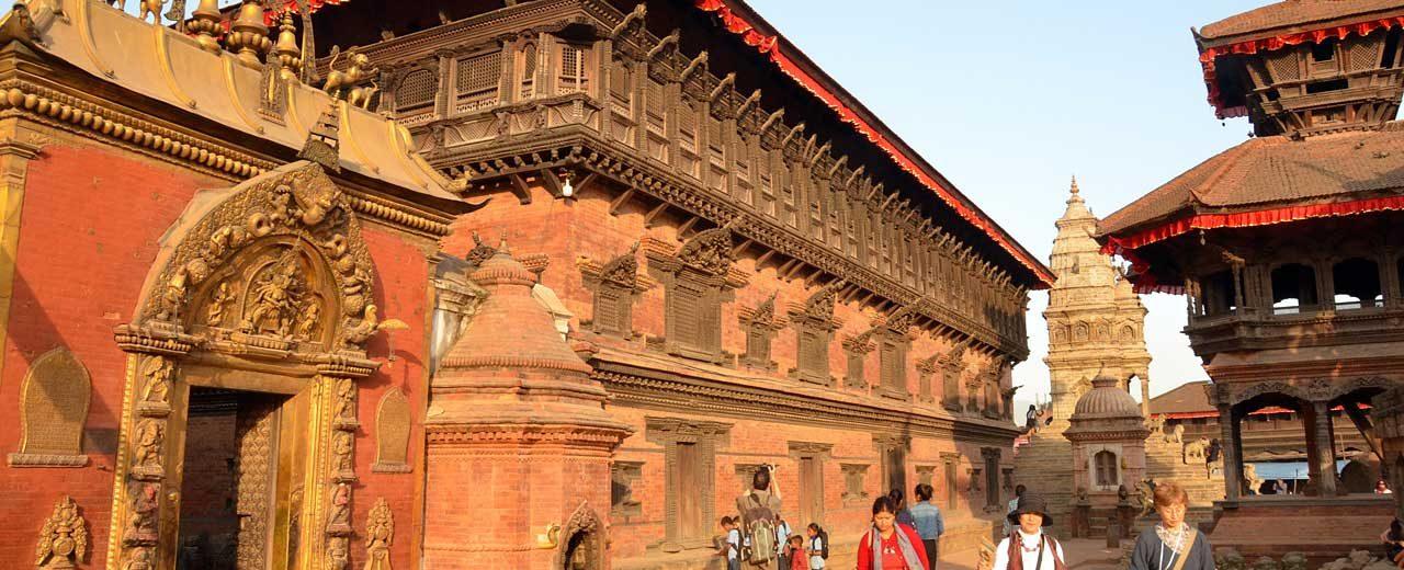 Kathmandu, Street scene