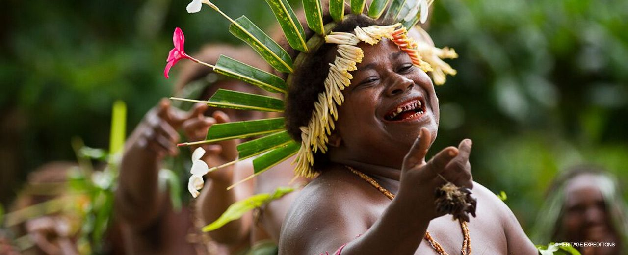 Melanesia- Smiling Dancer
