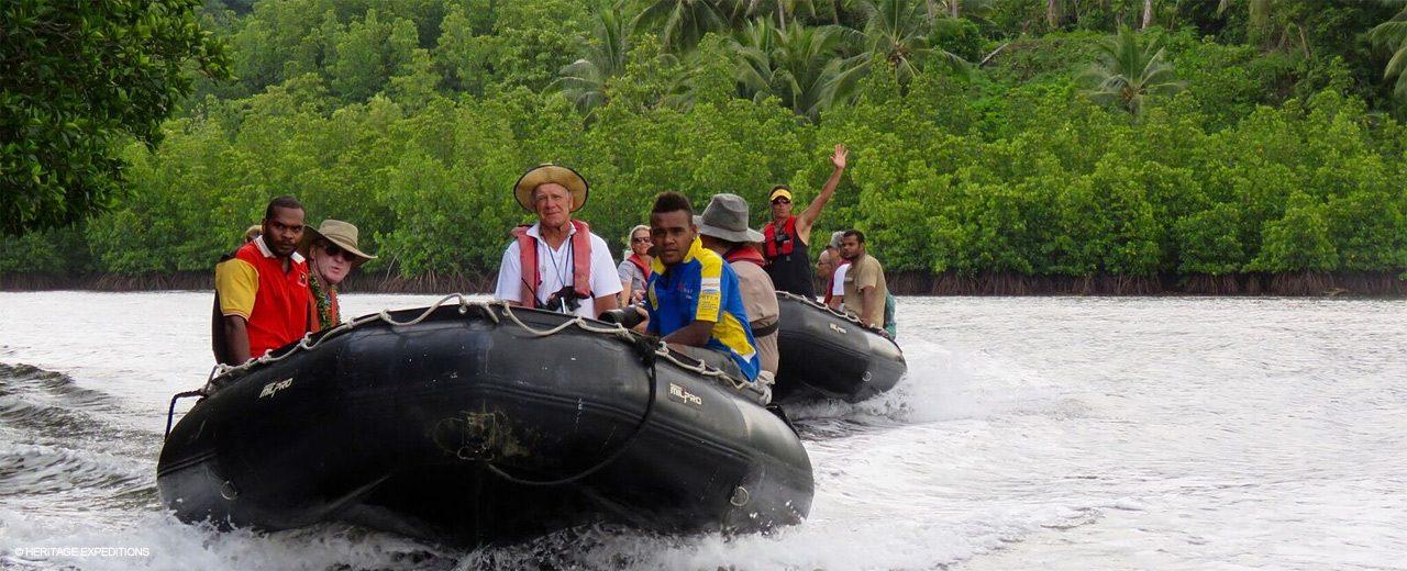 Melanesia - exploring inland