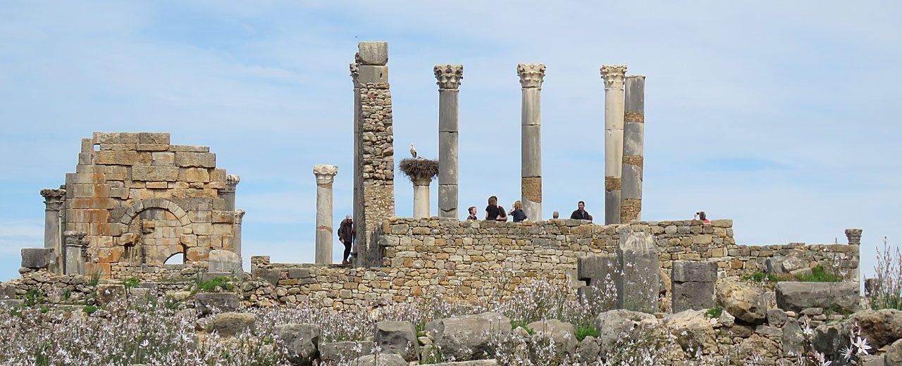 We explore the extensive site of Volubilis – the 3rd century BC Roman capital of Mauretania
